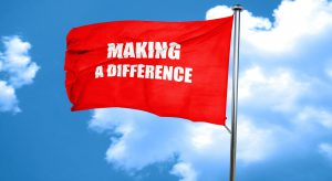 Making a difference flag