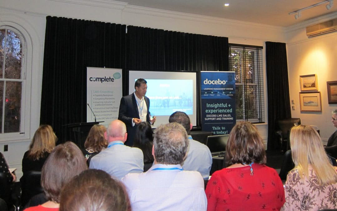 A great L&D catch-up at Docebo LMS Connect event