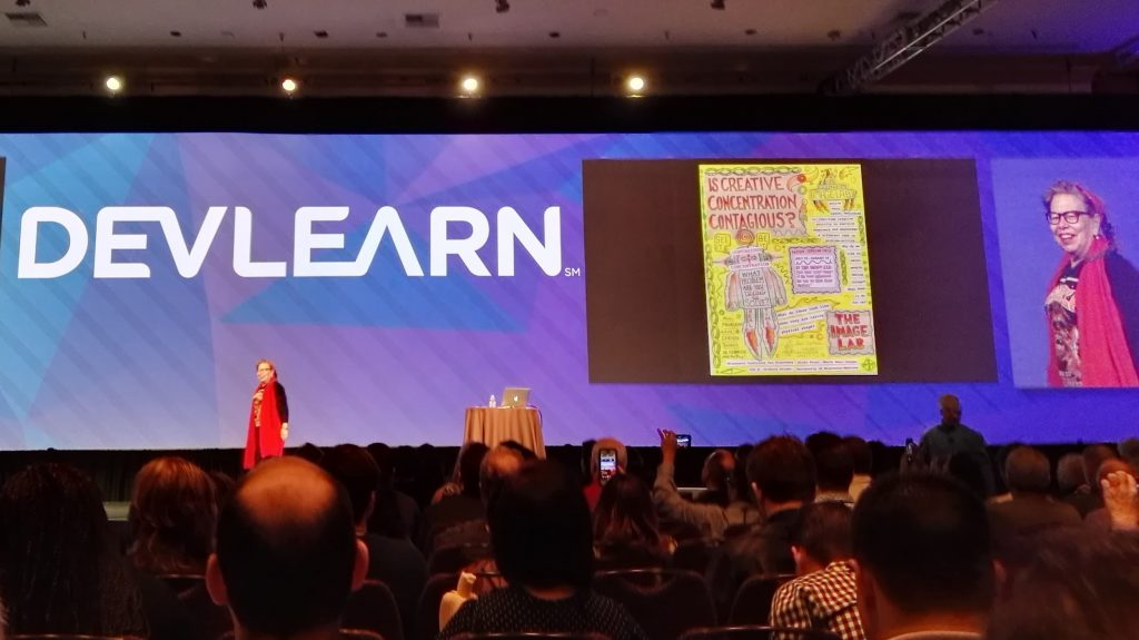 Lynda Barry at DevLearn