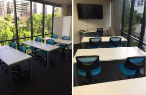 Training space for small groups