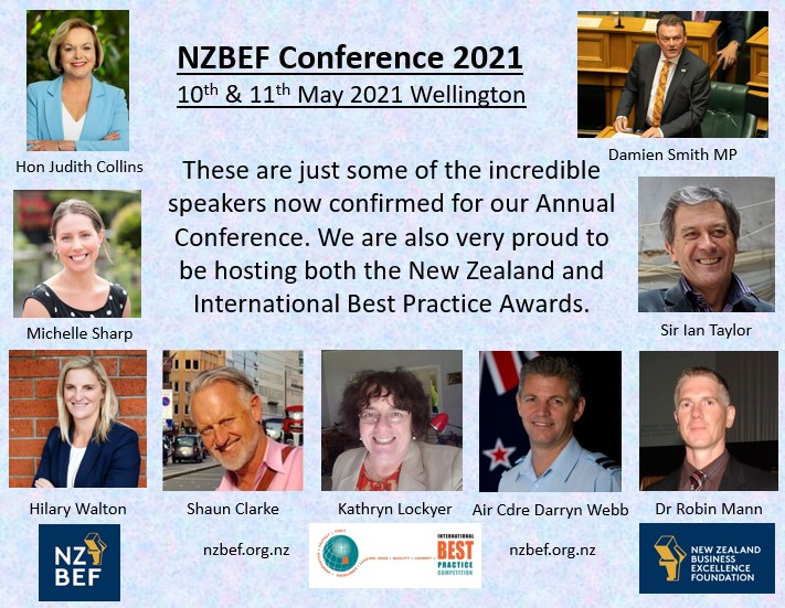 NZBEF Conference flyer